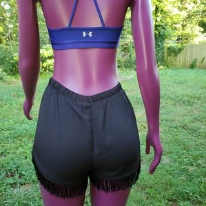 Under armour bralette and shorts